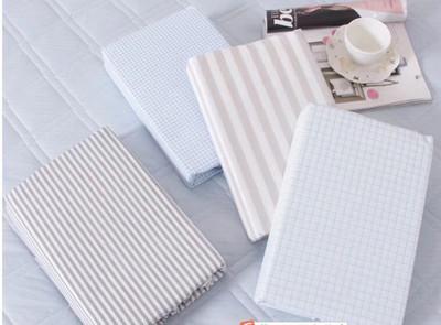 出口 全棉床单 高支高密 细棉布纯棉 薄款原单