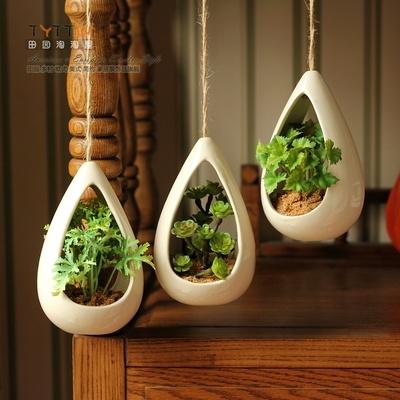 人气推荐 超逼真仿真盆景植物套装 时尚挂饰绿植盆景装饰饰品