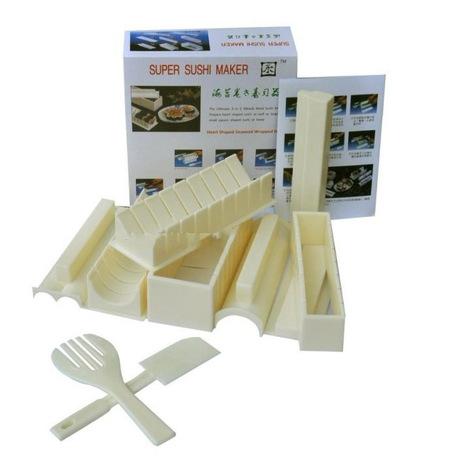 DIY комплект 10 кусок суши плесень суши риса шарики умирают десять кусок набор специальных водорослей рис и инструменты