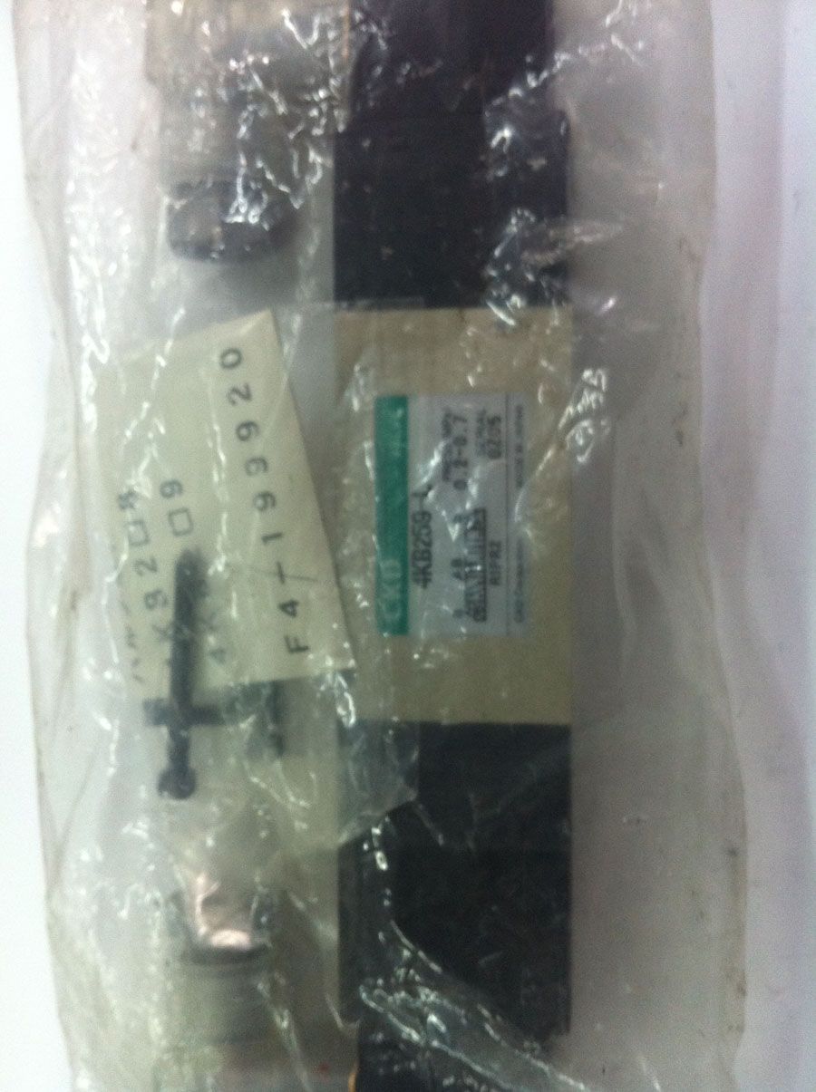 New and original CKD4KB259-LS-DC24V three position five way electronically controlled directional valve in Japan