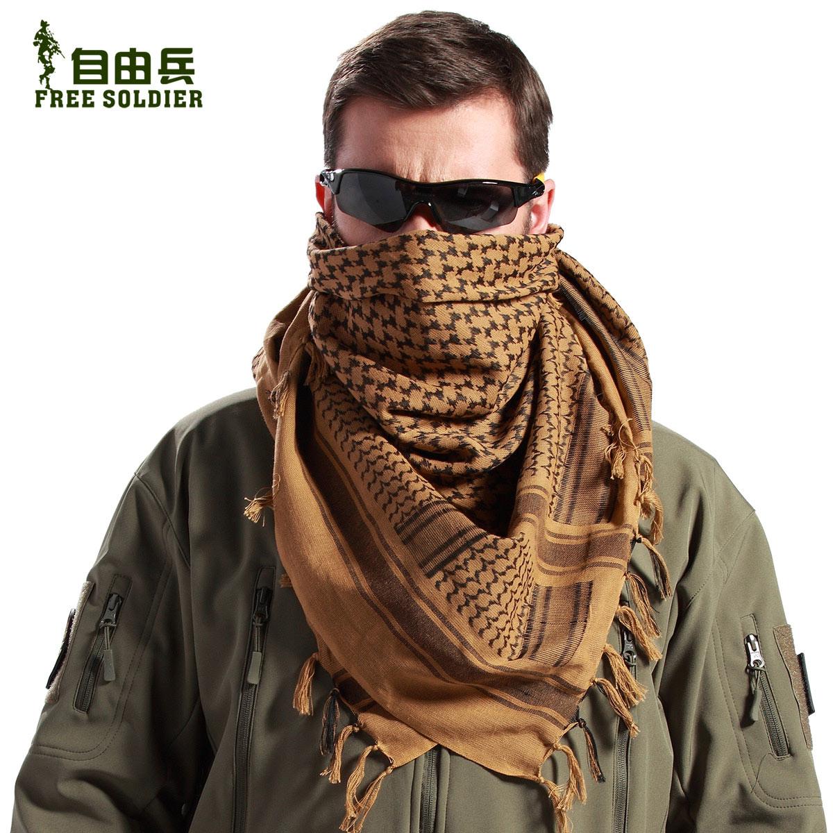 Toalla turbante árabes bufandas al aire libre personalidad militar de fuerzas especiales de Rusia, los