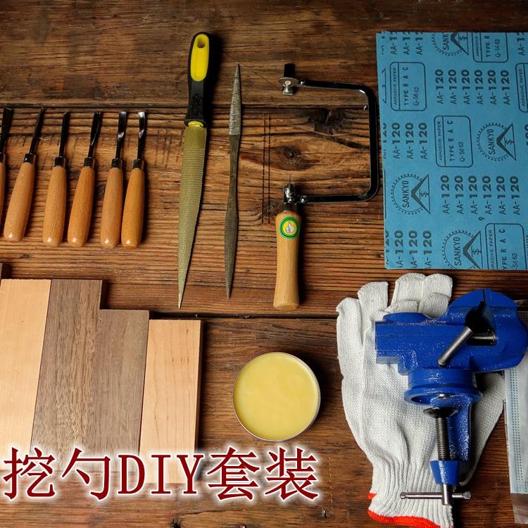Fai il cucchiaio di Legno rivestiti di cucchiaio di Legno rivestiti di strumenti nuovi strumenti per UNO strumento di incisione a cucchiaio di Legno