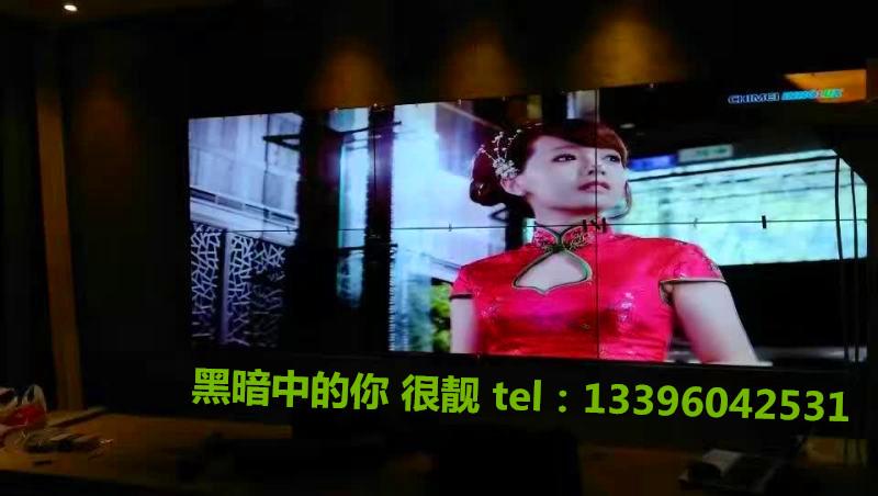 خفى LG55 بوصة وشاشات الكريستال السائل الشاشات 1.8 التماس شاشة كبيرة رصد عرض التلفزيون أدى فسيفساء الجدار