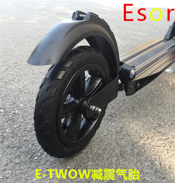 etwow2 electric scooter accessories silent rear wheels 8 inch pneumatic tiresmail - Pneumatic Tires