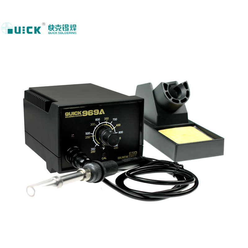 The new 60W480 package (QUICK) 969A crack welding electric soldering iron welding machine 969a