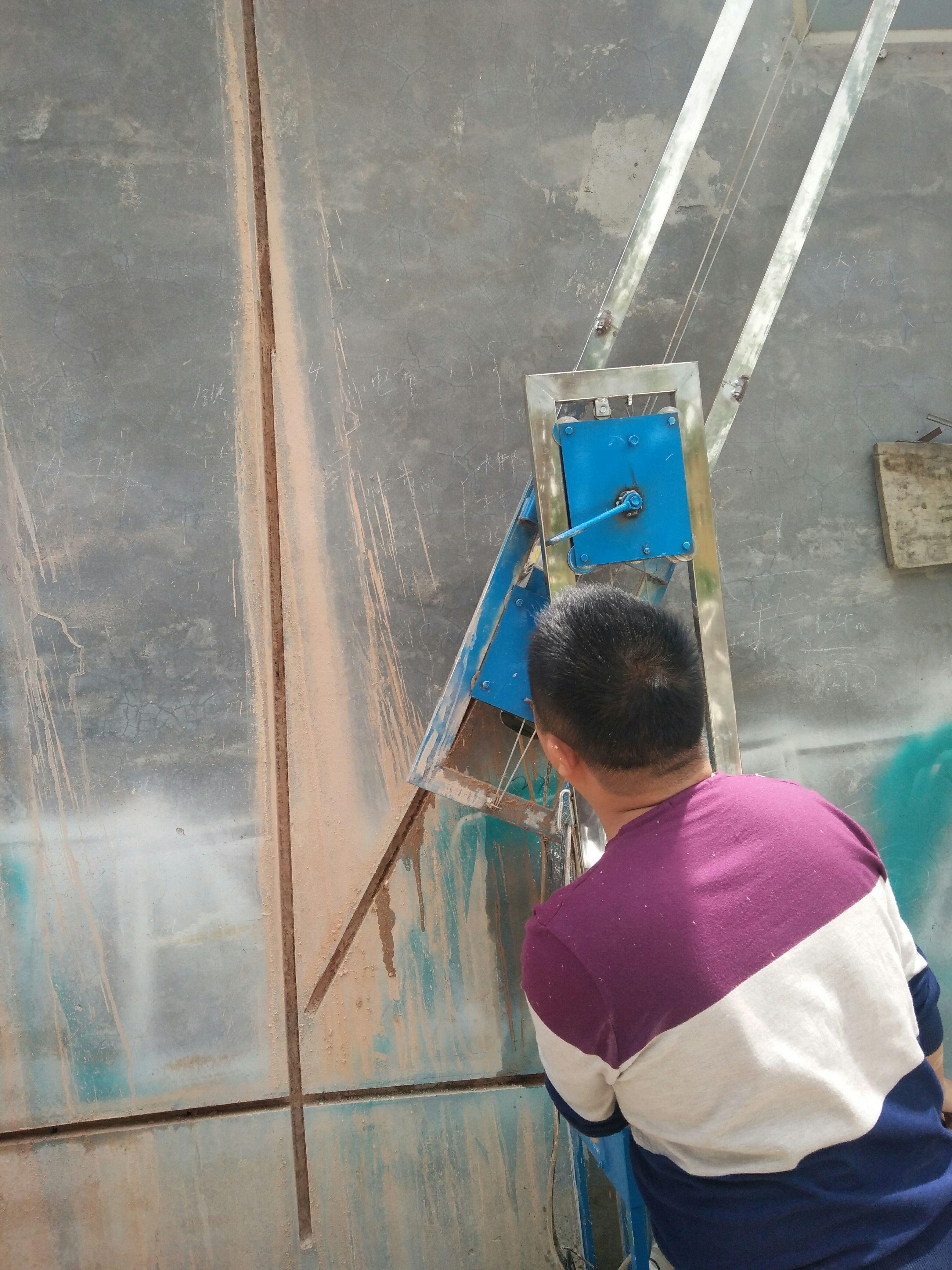 Schneidemaschine, die einmal wasserkraft staubfreien keine sackgassen Beton der wände Schneiden automatische Aufhebung