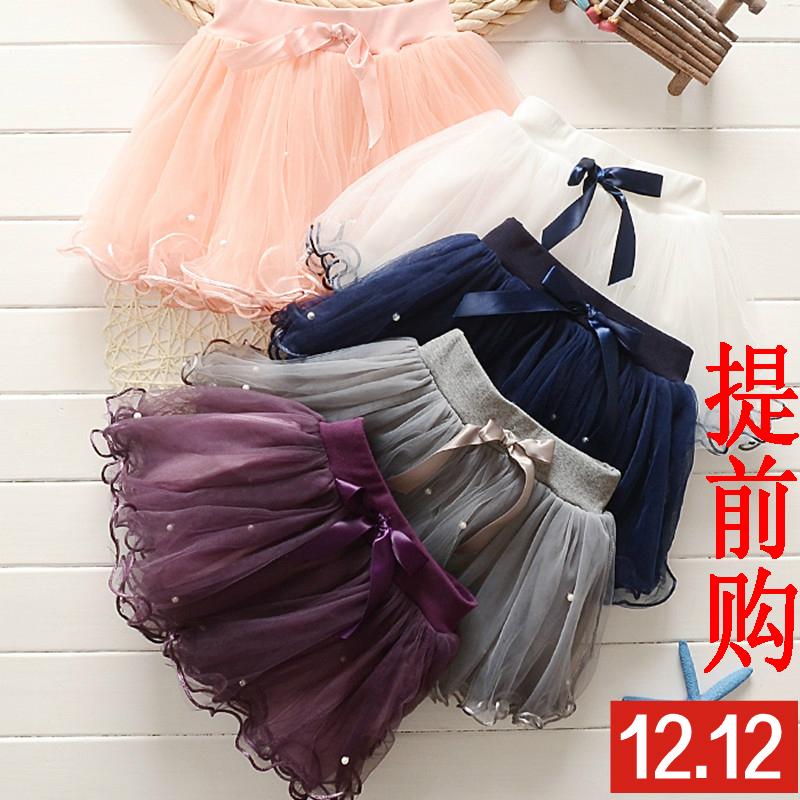 女童短裙儿童半身裙网