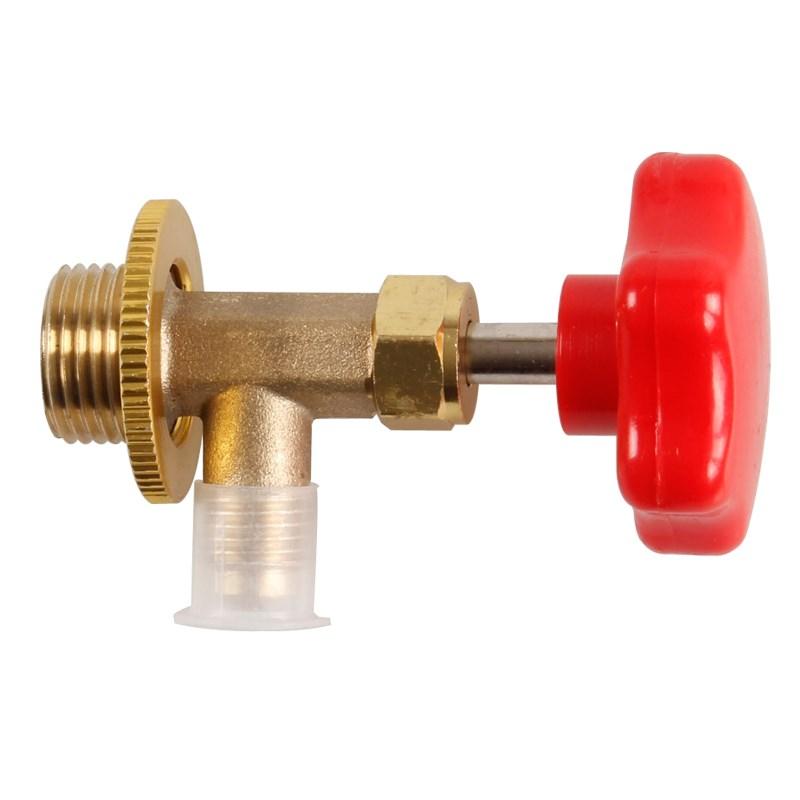 R12R134a trykmåler ventil åbning ventil bil klimaanlæg kølemiddel vedligeholdelse værktøj.
