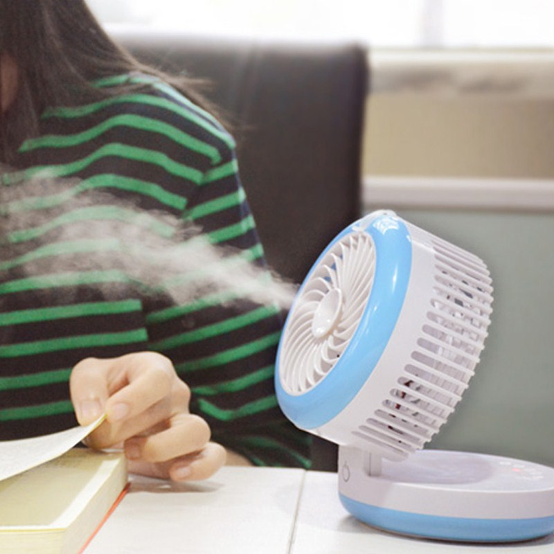 Krypton - dortoir de climatisation de mini - ventilateur humidificateur miniature de réfrigération mobile d'un ventilateur d'alimentation mobile Summer