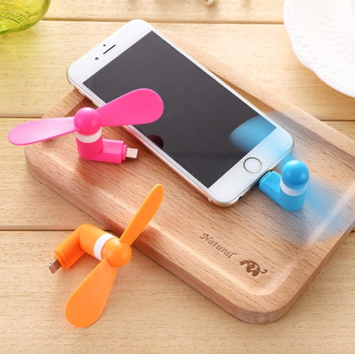 telefon přenosný větrák dva studenty fanoušek venku mini větráček výrobky s palubní chladicí mini -