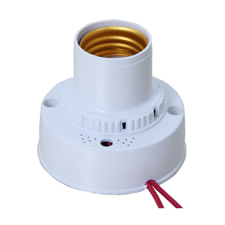 التحكم الصوتي ضوء مصباح E27 المسمار تأخير التبديل الممر صوت التبديل الاستشعار سقف المسمار المقبس
