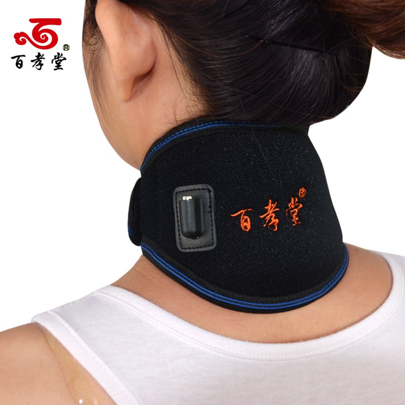 Electric heating neck protection with moxibustion heating neck neck support men women warm
