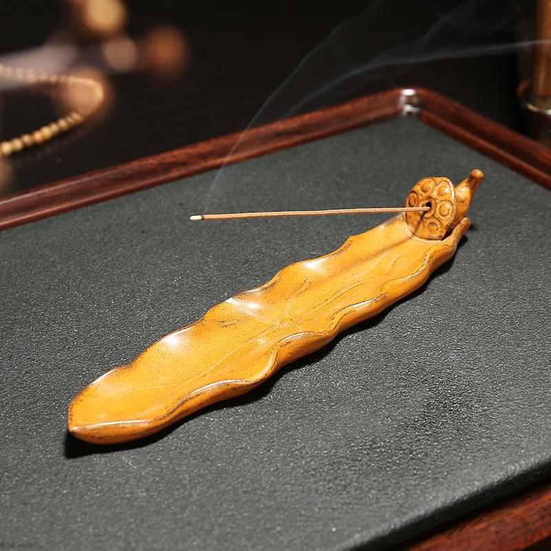кадило бытовых помещениях керамические старинное сандалового дерева печки плита кадило для Будды Садо Ароматерапия печь