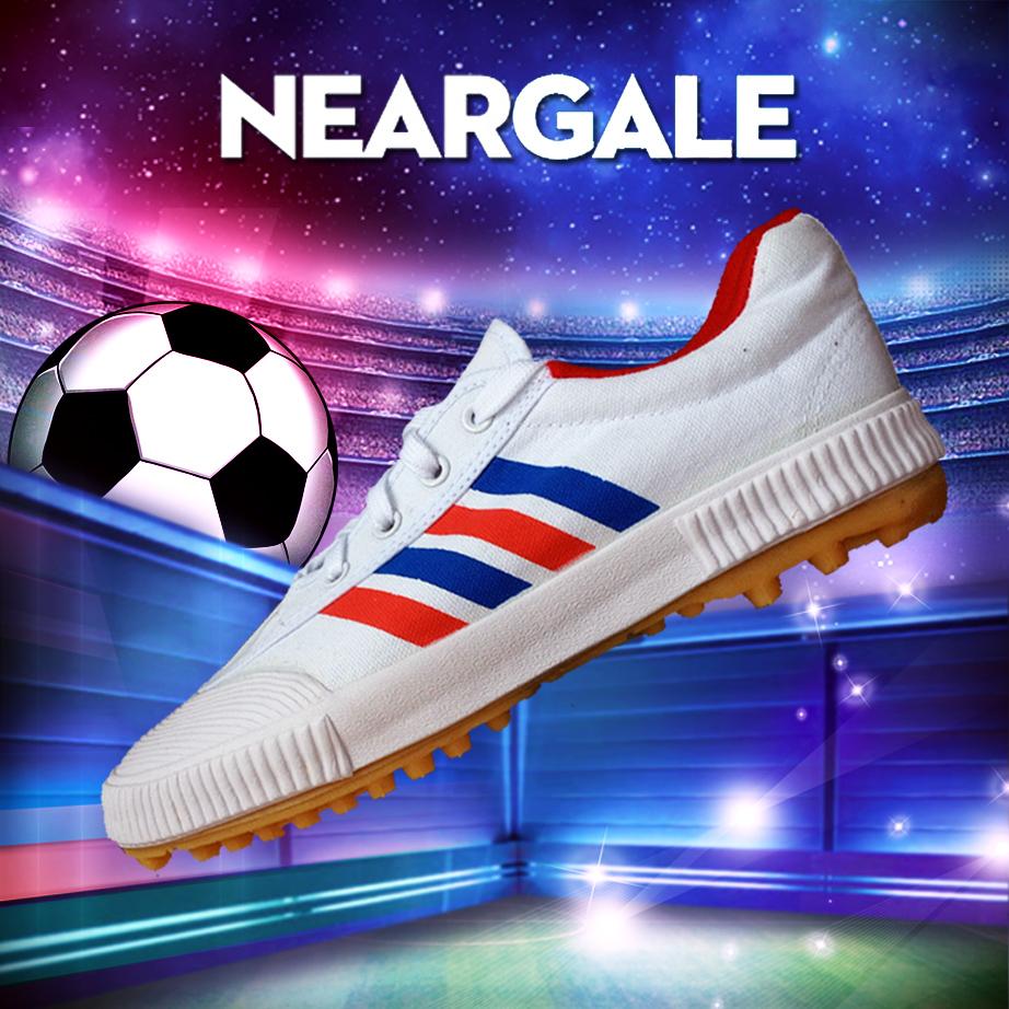 双星帆布足球训练鞋 男女运动鞋碎钉足球鞋男 儿童足球鞋 名人-12