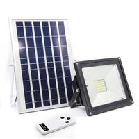 L'énergie solaire pour projeter de la lumière à l'extérieur de la lampe solaire domestique ultra - brillante Cour d'éclairage à del Lu 20 Watts