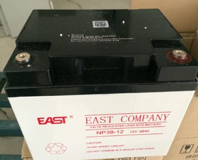 バッテリー鉛蓄電池易事特12V38AHEAST NP38-12バルブ訴える式のUPS / EPSバッテリー