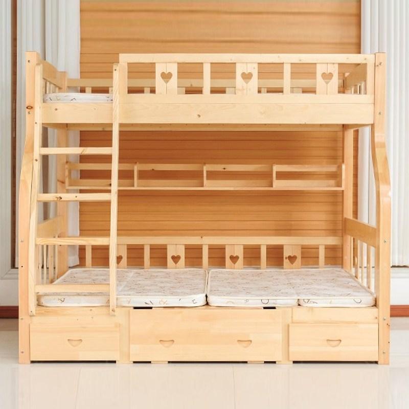 I Bambini a letto a letto con la Madre di Chuang tze scrivania letto Scala gabinetto letto doppio letto di ferro Alta 1,5 sul letto del Mediterraneo