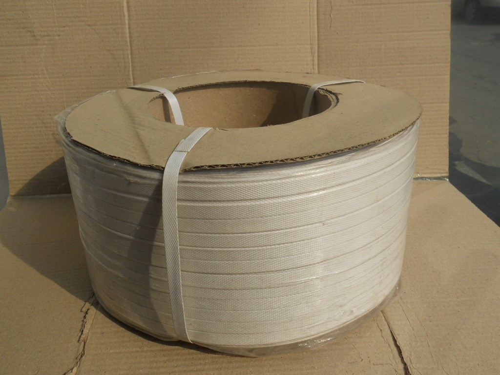 Machine packaging belt manufacturer PE packaging belt, machine packaging belt, grade a packaging belt inside and outside all white