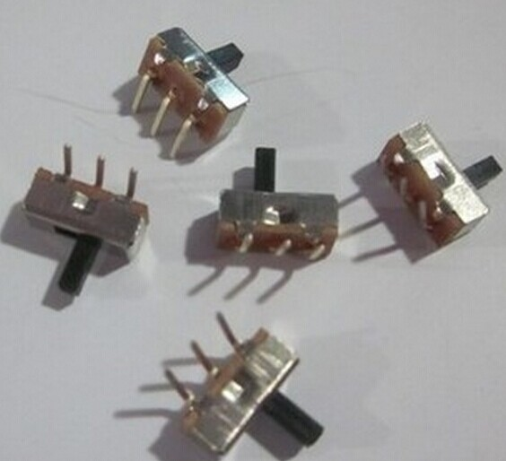 SS12D032 SS12D03G4 (1P2T) toggle switch without bending the fixed foot three environmental protection