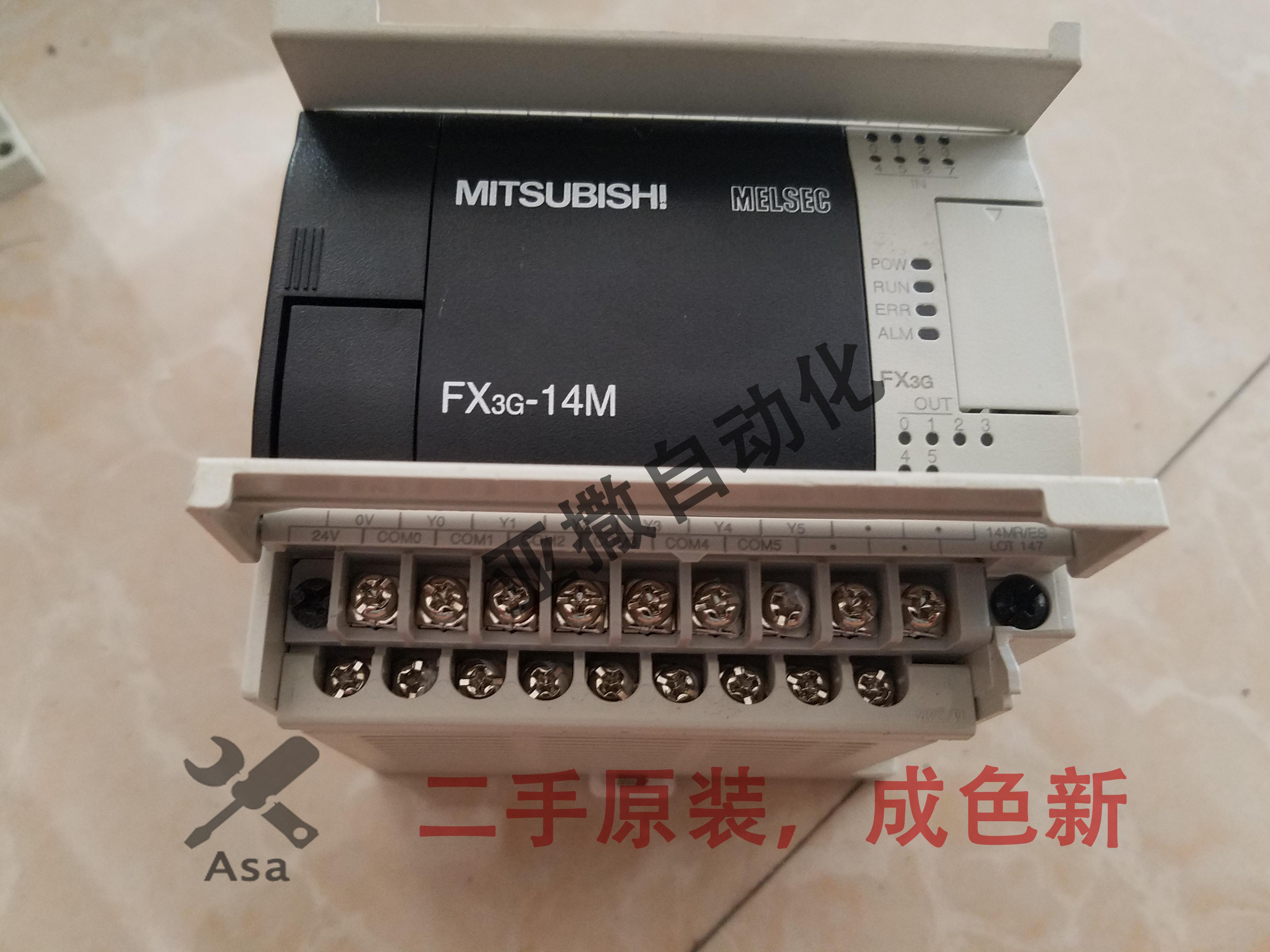 中古、三菱PLCFX3G-14 / 24 /よんじゅう/ 60MR / MT