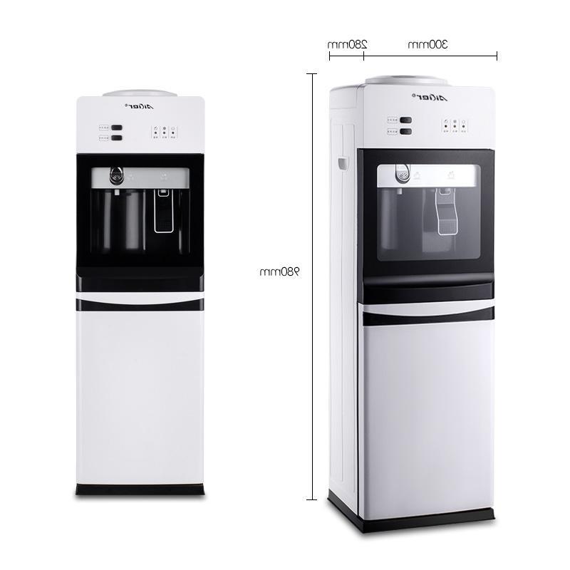 Η ποιότητα του πόσιμου νερού μηχανή παραγωγής θερμότητας και ψύξης το ζεστό γραφείο κάθετη εξοικονόμηση ενέργειας διπλό οικιακών βραστό νερό μηχανή με ζεστό και κρύο θέση ελεύθερη