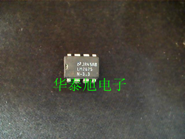 [import] to disassemble the LM2675N-3.3 voltage mode switching power supply controller with good fidelity test