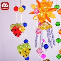 Campanula pendant material package, acrylic beads weaving, household jewelry, handicraft production, DIY handmade beads