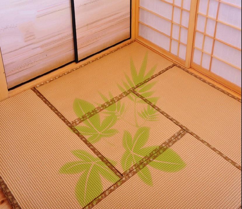 Japanese tatami mat tatami mattress custom custom jute core rattan mats on the ground pad collapse collapse rice