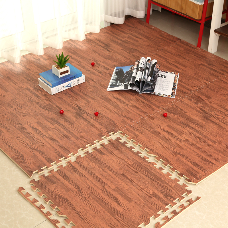 Waterproof foam pad puzzle dormitory floor mat wood mosaic bedroom bedroom tatami