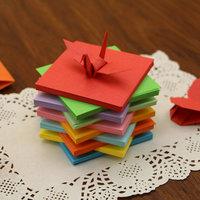 Origami a forma di Gru Origami a forma di Cuore l'Amore di 520 Zhang Qian Origami a forma di Origami a forma di quadrato Color Origami a forma di borsa posta di materiale