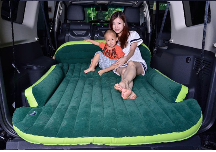 SUV dedicated Harvard H1H5H6 trunk inflatable mattress, folding travel bed car thickening Che Zhenchuang