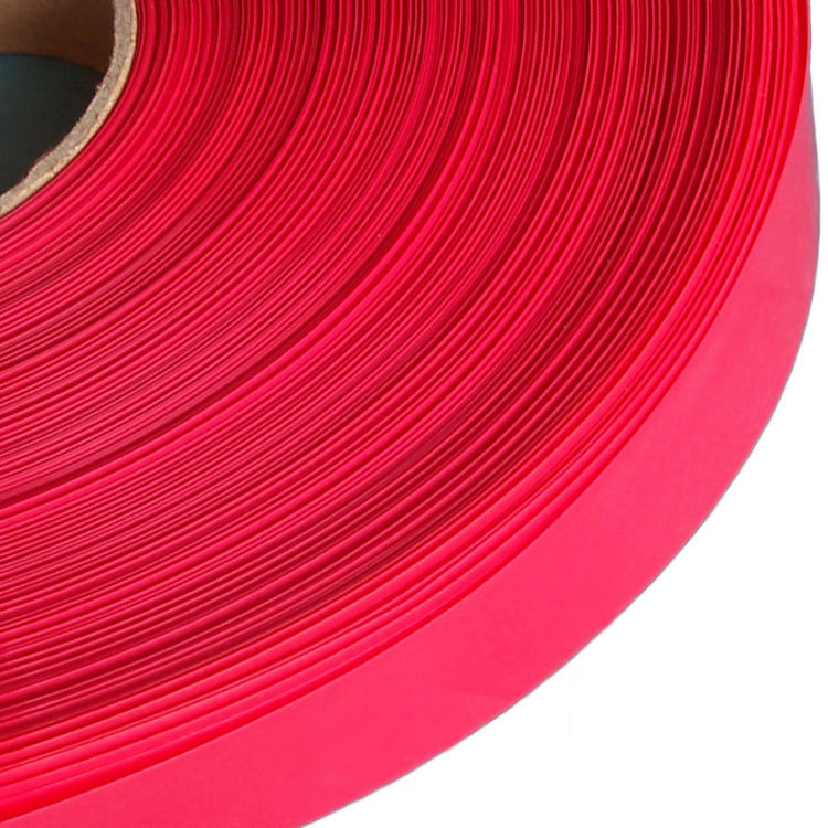 De ancho de color rojo 26650 43mm batería batería el tubo de PVC de aislamiento de protección térmica película