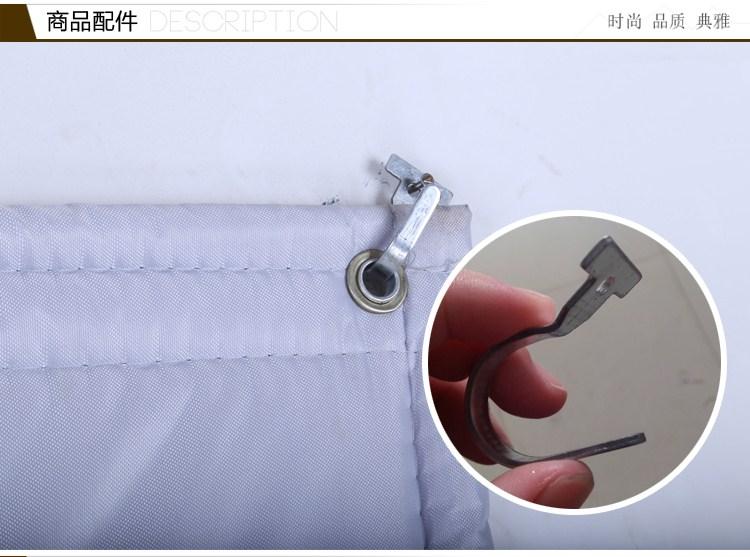 Katoen gordijnen verdikking van thermische isolatie van airconditioning isolatie gordijn gordijn warm vuur deur van de vriezer gordijn geluidsisolatie