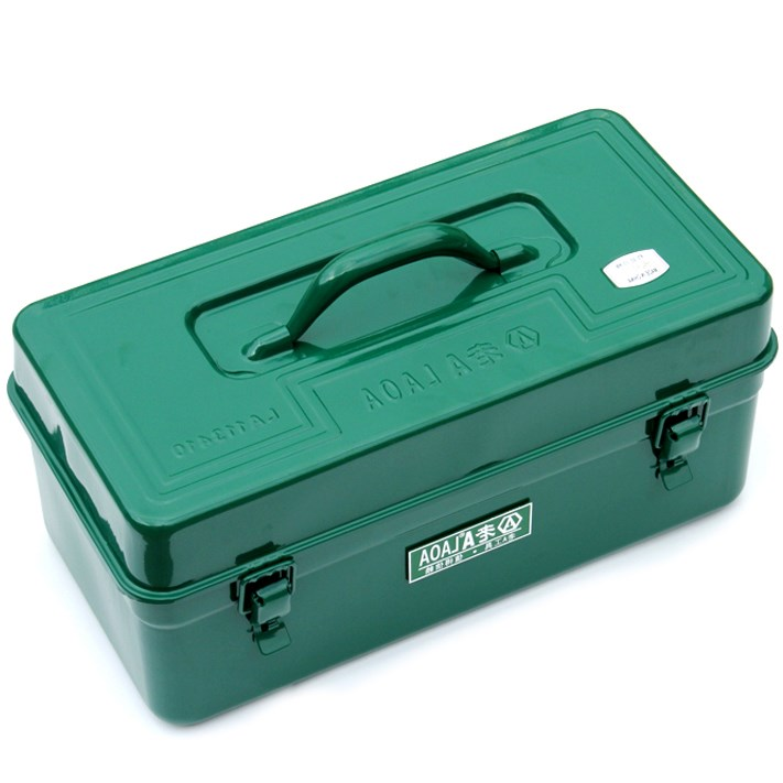 Thickening tool box, household hardware tool box, portable water and electricity maintenance box, large trumpet