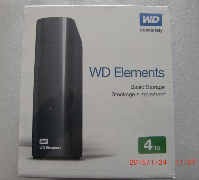 Im Westen der WD/ Daten ELEMENTS3.5 Zoll festplatte 4TBWDBWLG0040HBK e - elemente