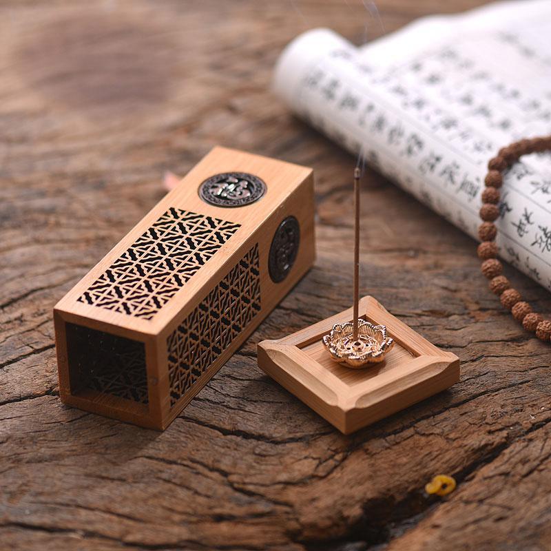 кадило ладан включить широкий и бамбук мини - вертикальной кадило творческие поездки небольшой кадило портативный линии кадило сандалового дерева печь