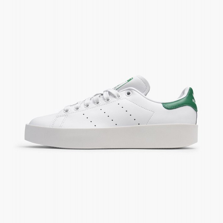 Adidas StanSmith white clover Smith thick bottom muffin green tail S32266