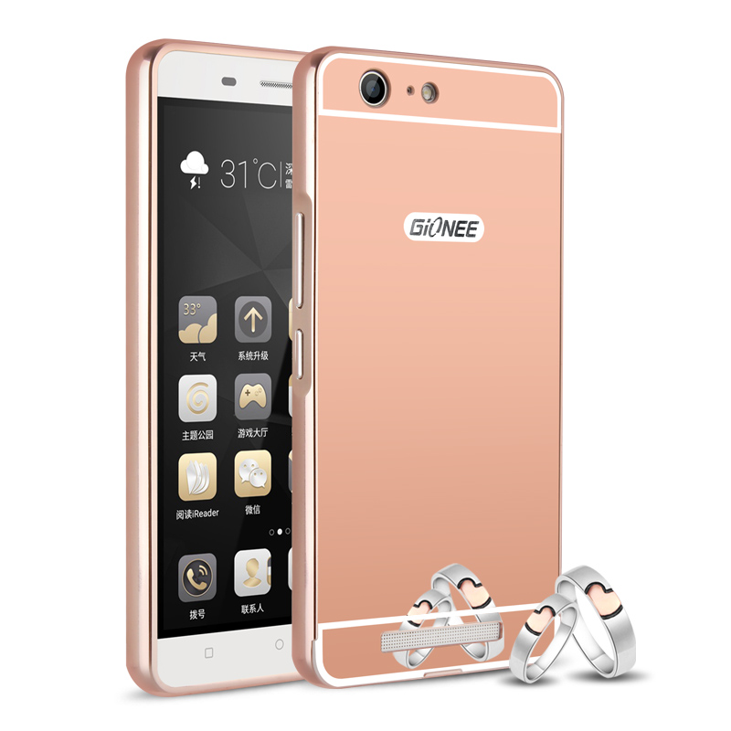 Jin M5 mobile phone set gold metal frame M5 M5 protective shell cover all men and women send wrapping shell tempered film