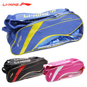 Post Lining badminton bag LINING genuine Three loaded with six backpack ABJK028 ABJK024