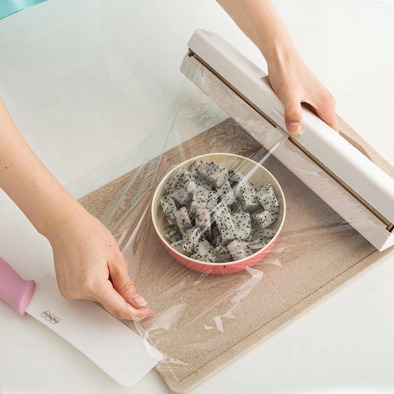 คัตเตอร์ตัดฟิล์มห่ออาหารกล่องญี่ปุ่น FASOLA gadgets ครัวของใช้ในครัวเรือนสแตนเลสแม่เหล็ก