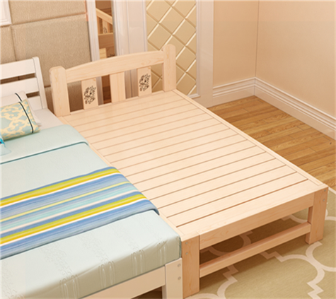 Shipping crib lengthened and widened bed solid wood bed single bed 1 wooden mosaic dipropionate children bed double bed frame