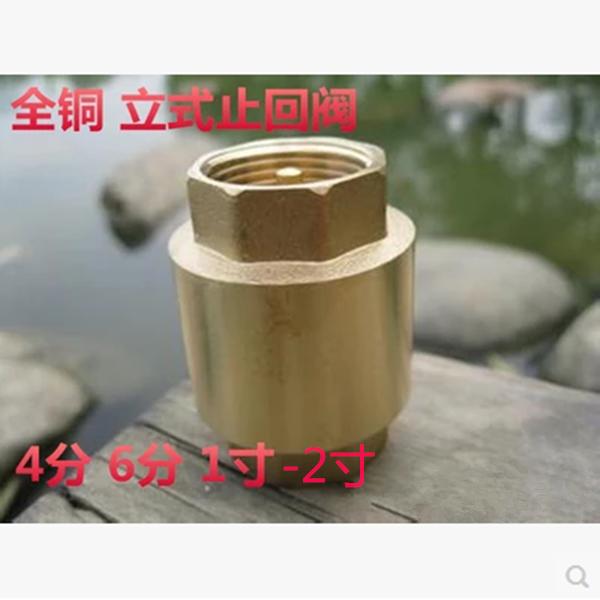 Kupfer, Kupfer vertikale 4 6 punkte 1 - Zoll - rückschlagventil 1 - Zoll - 5 - 2 - Zoll - Threads in leitungswasser rückschlagventil