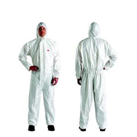 3M protective clothing 4515 conjoined with cap breathable protective clothing