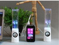 Mini spray water dance sound creative light notebook desktop computer mobile phone small SUBWOOFER SPEAKER
