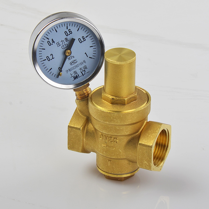 Domestic tap water pressure reducing valve 4 points 6 points water pipe constant pressure valve water heater water purifier constant pressure valve brass thickening
