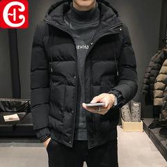 棉衣男士2019年新款冬季保暖外套棉袄潮流工装面包羽绒棉袄棉服