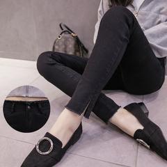 2020新款弹力小脚牛仔裤女春秋季韩版高腰显瘦开叉铅笔裤长裤夏装
