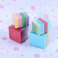 정해진 시간에 특매 나인 천 纸鹤 종이접기 5.5CM 수공 종이접기 DIY 컬러 수공 종이접기 완전 실속