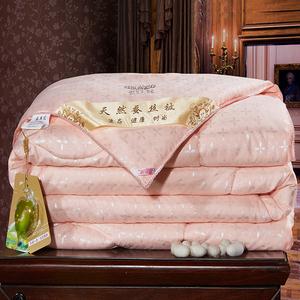 特价正品蚕丝被桑蚕丝加厚木棉被子春秋被芯全棉冬被单人双人保暖