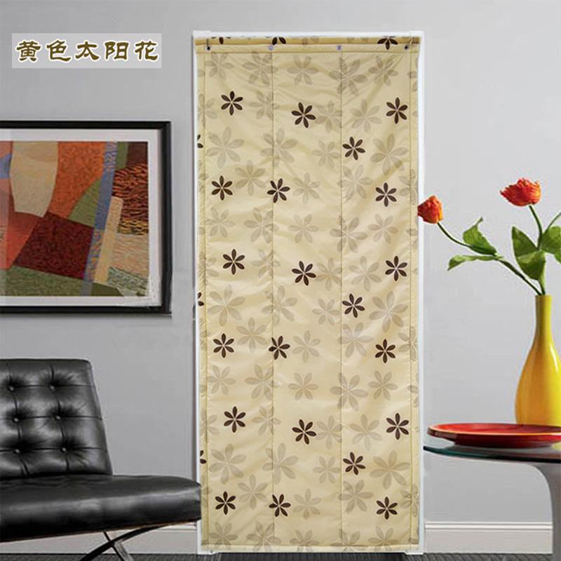 bombaž zavese odebeljen pozimi veter toplo krpo vetrobransko zavese za gospodinjske klimatske toplotne izolacije, vrata spalnice porazdelitveni zavese.